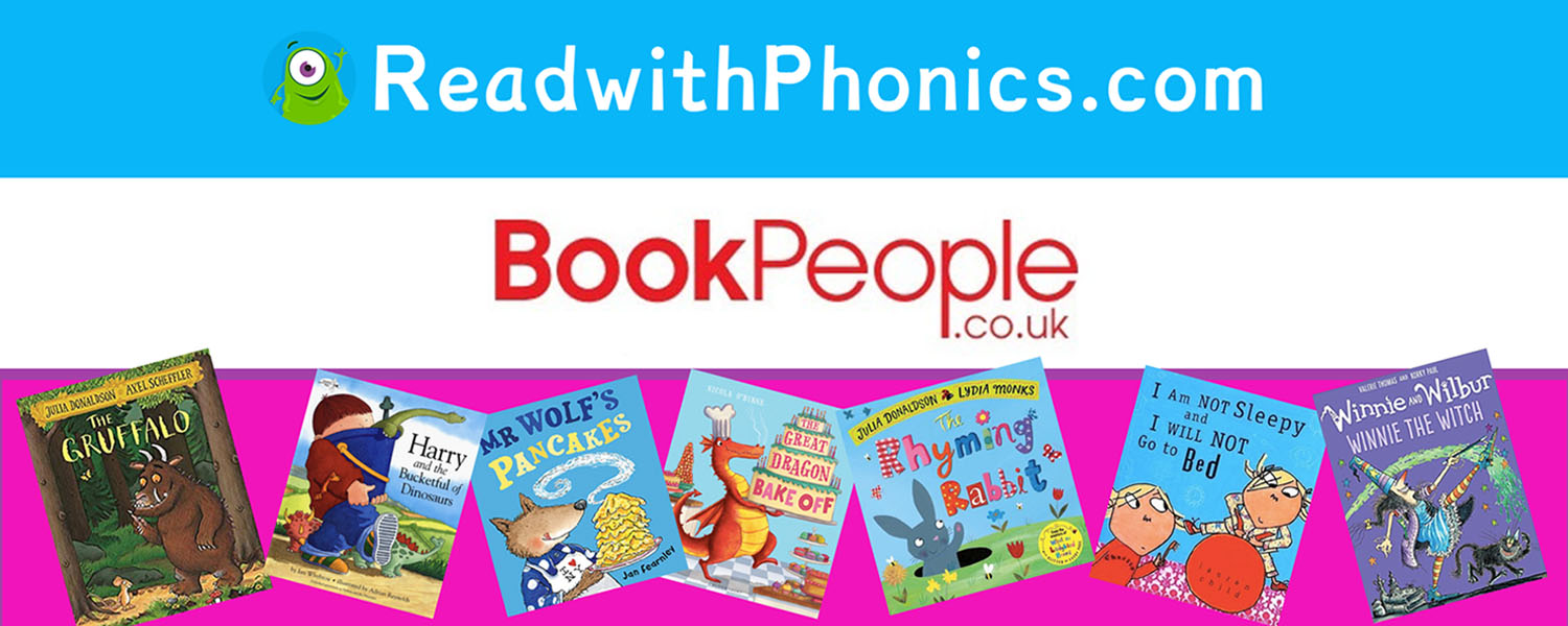 Read with Phonics Book People